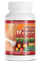 Super African Mango 1200 All Natural Weight Loss 60 Capsules Per Bottle (1) - $7.74