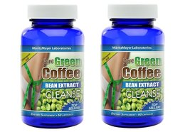 Pure Green Coffee Bean Extract CLEANSE 60 capsules (2) - $11.75