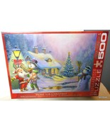 "NEW Eurographics Jigsaw Puzzle ""Home for Christmas ""  500 Pieces - $27.40"