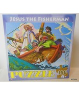 "NEW Eurographics Jigsaw Puzzle ""Jesus the Fisherman "" 100 Pieces Age 6 a... - $23.40"