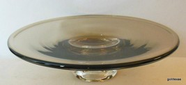 "Vintage Rosenthal Taupe Glass Bowl Flair 7.5"" - $65.40"