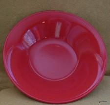 """True Red Ceramic Soup Bowl Chateau 8"""" Diameter - $11.00"""