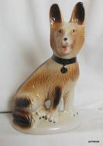 "Vintage Ceramic Dog German Shepherd 8"" Brazil - $19.00"