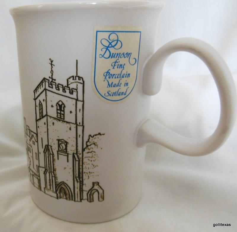 Dunoon Mug Oxford Made in Scotland 4""