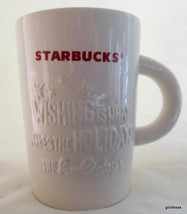 "Starbucks Christmas Mug 2010 Wishing 10 0z 4.5"" - $15.00"