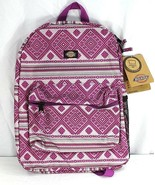 Dickies Pink Geometric Shape Student Backpack  - $39.99