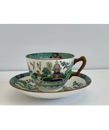 Crown Staffordshire Ye Olde Willow Cup and Saucer - $38.61