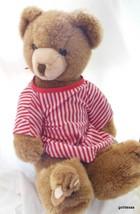 Schmid Musical Plush Teddy Bear in Bunny Slippers 1984 Gordon Fraser - $49.40