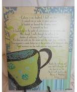 "Wall Plak ""Coffee Prayer"" 11 x 14"" - $35.40"