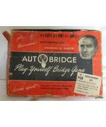 Vintage Auto Bridge Game Charles Goren Boxed - $19.40