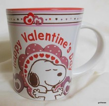 """Snoopy Peanuts Mug """"Happy Valentine's Day""""  4.25"""" Heavy - $16.00"""