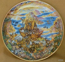 "Collectible Noah's Ark Plate ""Two by Two""   Bill Bell L/E Franklin Mint ... - $12.00"