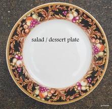 "Vintage Vitromaster Avalon Dessert / Salad  Plate 8"" Fruits Retired - $12.00"