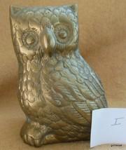 "Vintage Mid Century Owl Brass No ID 3.75"" I - $16.00"