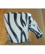 "Zebra Mug Head Makes the Handle Ceramic Hand Painted 3.5"" - $15.00"