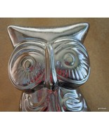"NEW Owl  8"" Metallic Glaze Ceramic - $27.40"