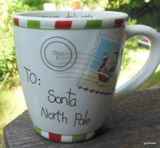 "Oversize Christmas Mug St Nicholas Square 4.75"" - $15.00"