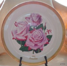 "Vintage 1977 Gorham Paradise LE 3690/9800 American Rose Society 10.75"" - $38.40"