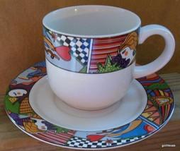 Vintage Vitromaster Metropolitan Cup and Saucer - $13.00