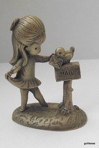 "Hallmark Little Gallery 1980 Joan Walsh Anglund ""Happy Thoughts"" 2"" - $30.40"