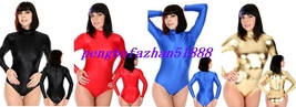 4 Color Lycra Spandex Zentai Sexy Short Body Suit Catsuit Costumes S271 - $32.99