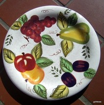 "Oneida Vintage Fruit 1 Dinner Plate Mixed Fruit 10.5"" - $13.00"
