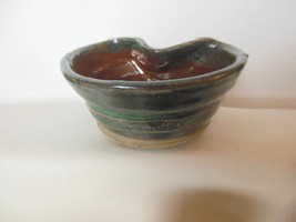 "Studio Pottery Bowl Candy Dish 2.5 x 5"" Beautif... - $19.00"