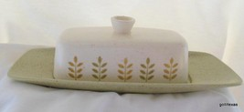 Vintage Metlox PoppyTrail Pepper Tree Butter Dish with Cover Mid Century... - $30.00