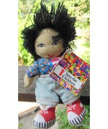 "Save the Children Rag Bean Bag Doll Haruko 7"" with Tags - $15.40"