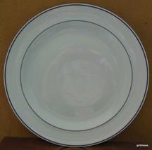 "Vintage Georges Boyer  Limoges France Salad Plate 7.5""  White with Cobal... - $10.00"