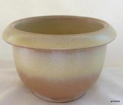 "Set of 2 Frankoma Desert Gold Individual Bean Pots 2.5"" Tall USA - $22.00"