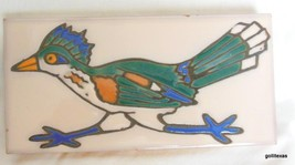Hand Made Glazed Ceramic Wall Plak Road Runner ... - $19.00