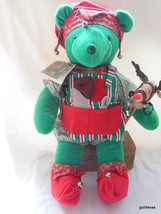 "North American Bear Co Limited Edition Santa's HelpBear with Tags 21"" - $45.40"