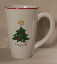"Fitz and Floyd Essentials Merry Christmas Mug ""Trees""  5.25"" - $13.00"