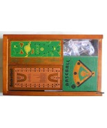 American Classics Old-Town Collection Board Games Wood Box - $17.00