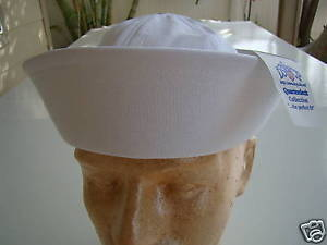 US NAVY USN USS SEAL SAILOR SEABEE SHIP SHORE SUB DIXIE CUP SAILOR/'S CAP 7 1//2