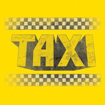 Taxi T-shirt retro 70's 80's TV land 100% cotton graphic yellow tee CBS133 image 2