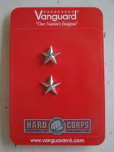 Uscg Us Coast Guard O 7 Rdml Rear Admiral Silver Shirt Collar Rank Insignia Pair - $14.84