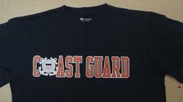 Uscg Us Coast Guard Operational Dress Undress Combat Bdu Blue S/S T Shirt Sz Sm - $18.80