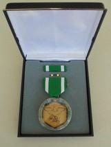 Usmc Fleet Marine Corps Unissued Cased Navy Military Commendation Medal Set  #10 - $28.70
