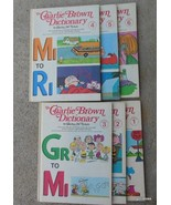 Vintage Charlie Brown Dictionary 6 Volumes First Printing 1973 - $60.00