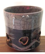 "Vintage Somayaki Soma Wear Mug Cup 3.25""  RARE Celadon  7 oz F - $12.00"