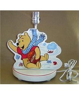 "Winnie the Pooh Wood Lamp 11"" Huny Pot - $13.00"