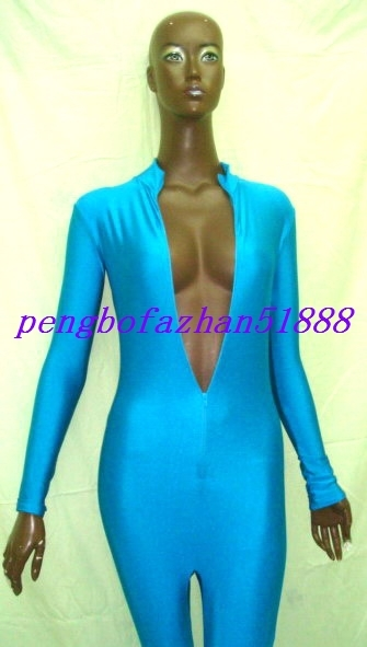 67b2588ff3e Lycra Spandex Sexy Lake Blue Body Suit and 50 similar items. Dsc04473