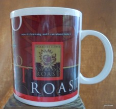 "Starbucks Espresso Roast Mug 4""  16 Oz.  1998 - $18.00"