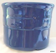 "Longaberger Pottery Blue Container 3.5 x 4.5"" - $17.00"