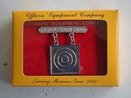 Usmc Us Marine Corps All Ranks Pistol Marksmanship Breast Badge Vintage Package - $14.84