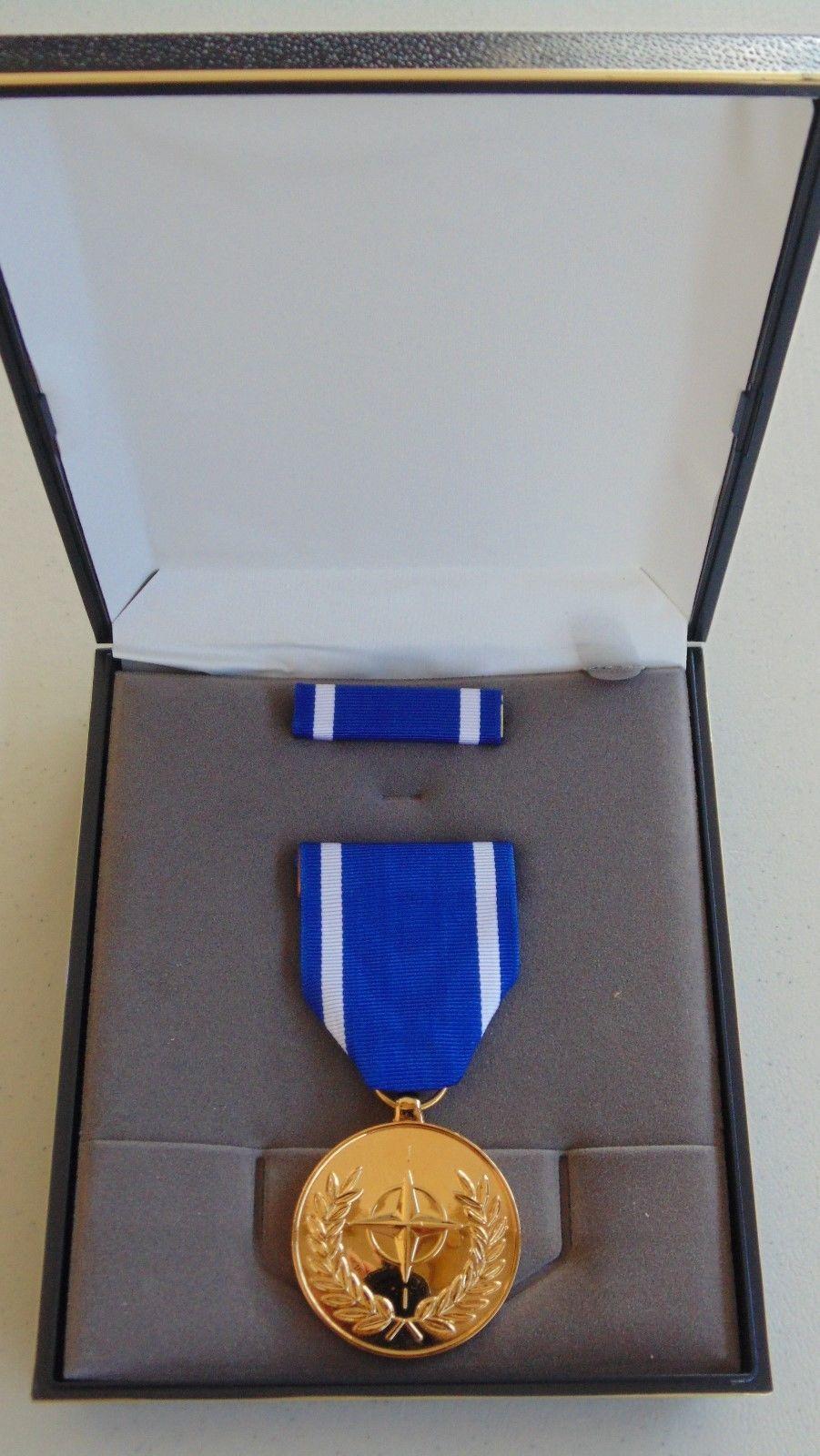 USMC US MARINE CORPS & FLEET MARINES UNISSUED CASED NATO SERVICE MEDAL SET #15 - $29.69