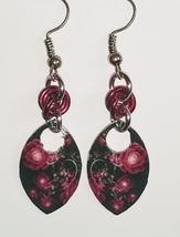 Decoupaged Scale Maille Dangle Earrings-Multiple Designs! - $15.00+