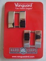 Usn Us Navy O 3 Lt Lieutenant's Silver Jacket Shoulder Rank Insignia Pair - $14.80